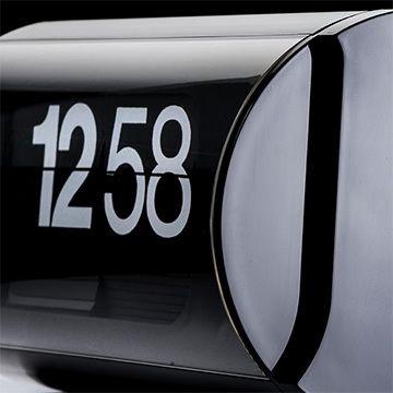#cifra3 black solari lineadesign #flipclock #design #ginovalle