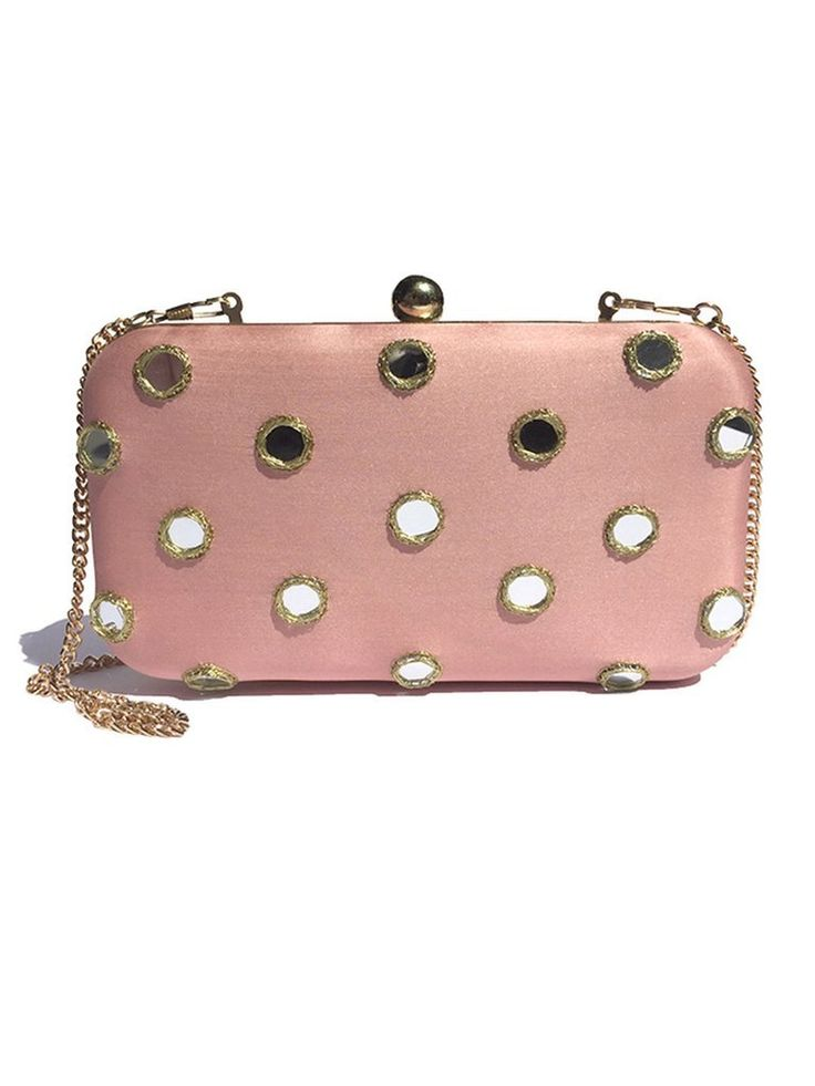 Moss and Spy - Mirrored Clutch