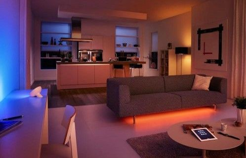 Smart wireless Philips Hue lights are good for a lot more than just making your room like a nightclub.