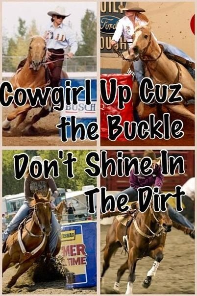 I would so love to learn to barrel race!!! Its always been my fav event at the rodio! Ah!
