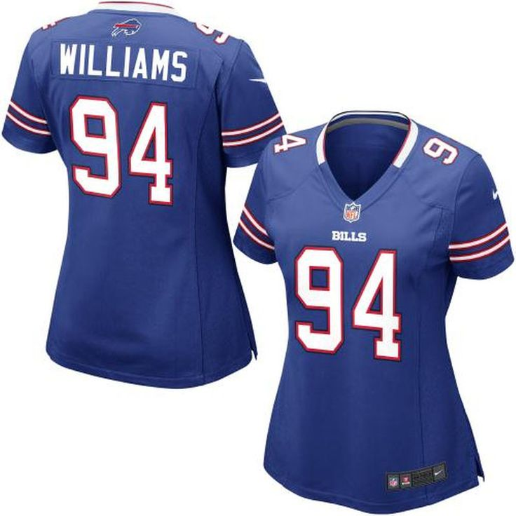 Mario Williams Buffalo Bills Nike Women's Game Jersey – Royal Blue