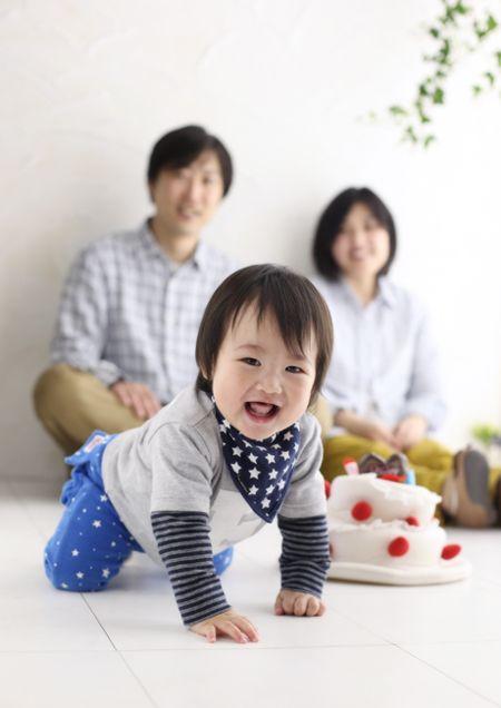 ファミリーフォト 家族写真 赤ちゃん