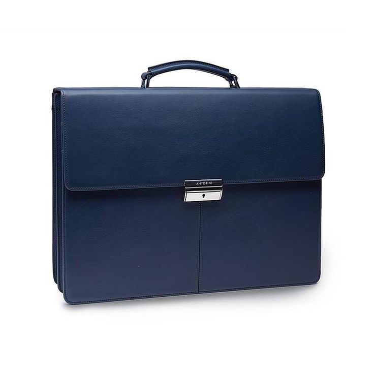 Briefcase made in Italy.