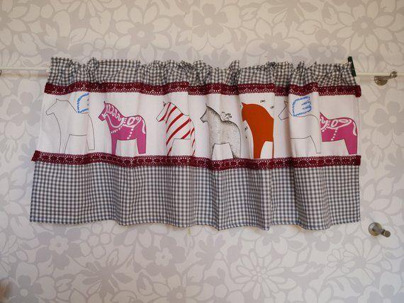 Weihnachtsgardine Scheibengardine Landhausgardine Bistrogardine Home Decor Decor Curtains