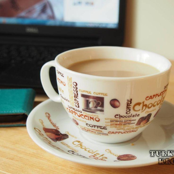Na blogu ➡ www.turkusowskropka.com  nowy post o grudniowych odkryciach.  Nie zapomnijcie zaglądnąć ☺ #nowyWpis #kawa #coffee #coffeelover #instacoffee #coffeetime #coffeeaddict #notebook #dell #coffee_inst
