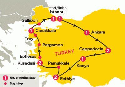 Turkey explored