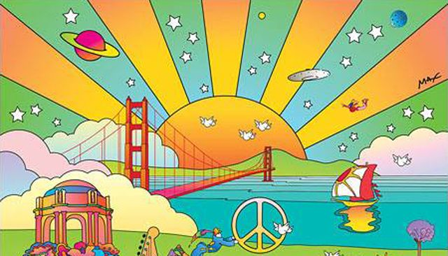peter max art 60's - Google Search