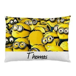 Personalized-Minions-Pillowcase-Childrens-Kids-You-Choose-Name