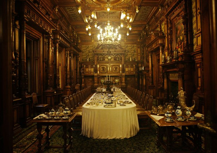 The Dining Room by Béla Török on 500px - Peles Castle.
