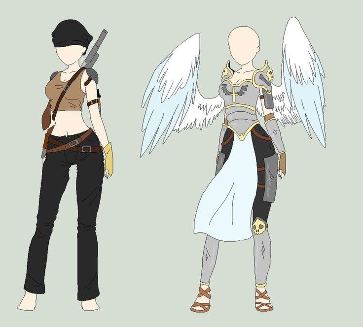 1 - OPEN for 50 Additional art nikotea.deviantart.com/art/Chiu2026 2 - Battle angel outfit - 35 ...