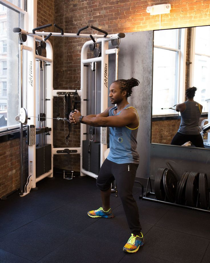 4. Cable Isometric Hold #abs #workout #exercises http://greatist.com/move/abs-workout-most-effective-core-moves-to-do-at-the-gym