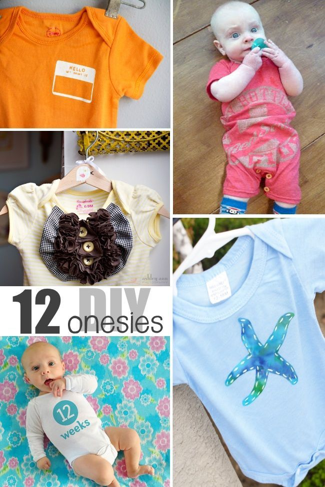 93b405d6c 15  Adorable  DIY Baby Onesies
