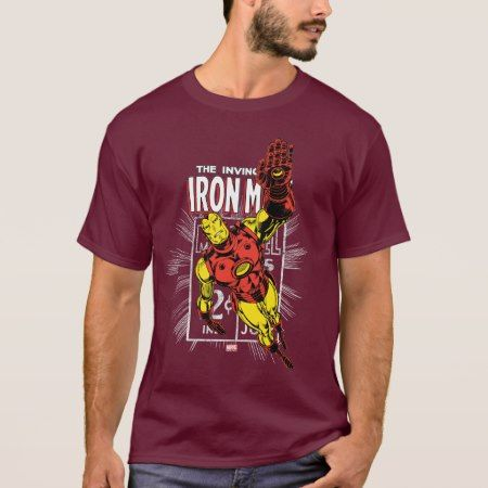 Iron Man Retro Comic Price Graphic T-Shirt - click to get yours right now!