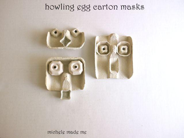 http://www.michelemademe.com/2012/10/howling-halloween-egg-carton-masks.html