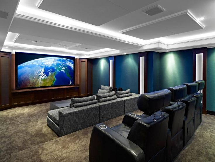 home theater designs from cedia 2012 finalists - Diy Home Theater Design