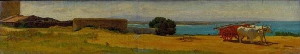 Una mostra a Viareggio presenta opere dei pittori Macchiaioli