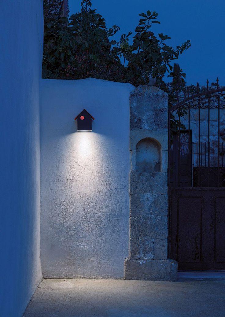 Lampada da parete a LED in metallo IMU by DAVIDE GROPPI design Omar Carraglia