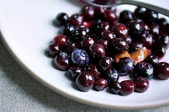 Blueberry Grappa Sauce