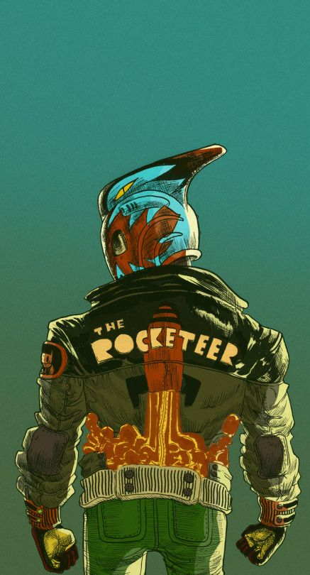 The Rocketeer by Rômulo de Oliveira