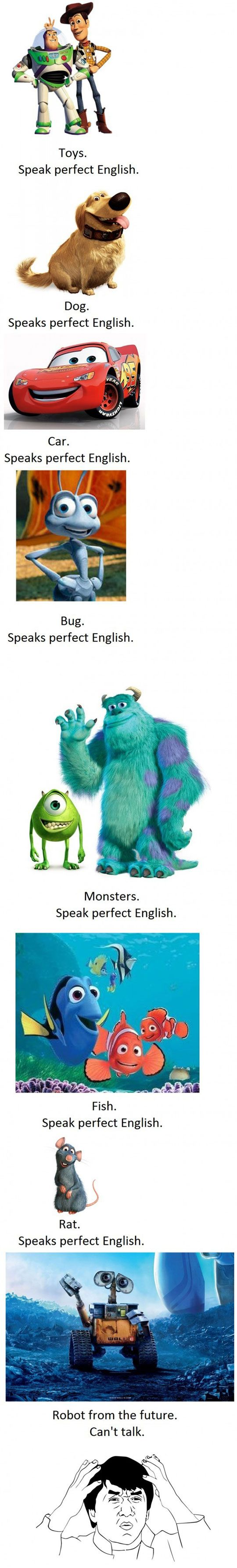 Disney/Pixar LogicRobots, Laugh, Disney Pixar Logic, Funny Pictures, Movie Character, Disneypixar Logic, Disney Logic, Pixar Movie, Disney Movie