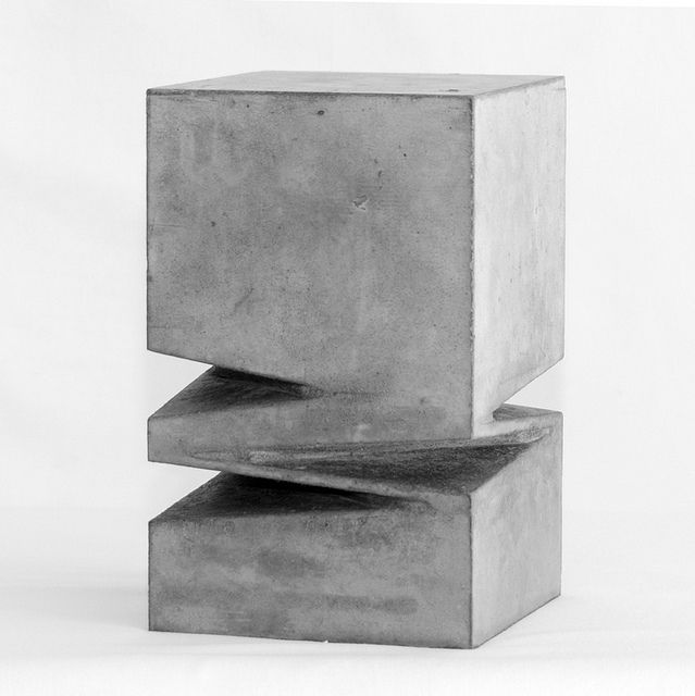 BENOIST VAN BORREN, UNTITLED: stone sculpture.