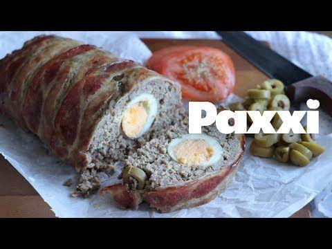 Ρολό κιμά με αυγά και ελιές   — Paxxi