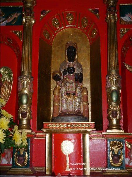 "Réplica de la Virgen de Monserrat ""La Moreneta"", Bogotá, Colombia"