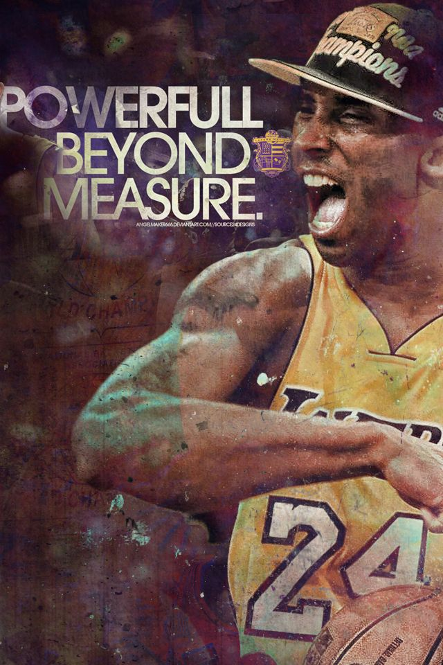 Nba Kobe Bryant Iphone Ipod Wallpaper Nba Wallpapers Pinterest Kobe Bryant Kobe And Nba