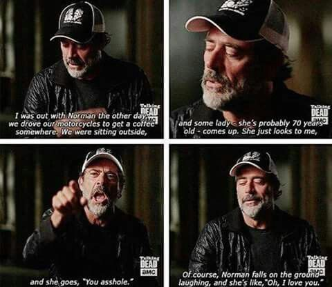 JDM talking about Norman and a fan