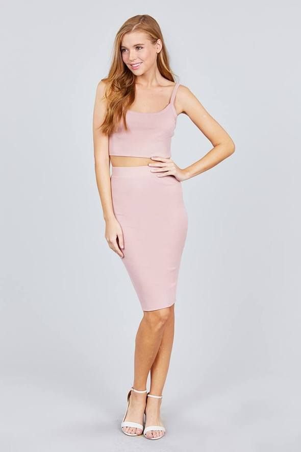 c67237c50c Can't Hold Me Back Tank Top & Pencil Skirt Set in 2019 | Women's ...