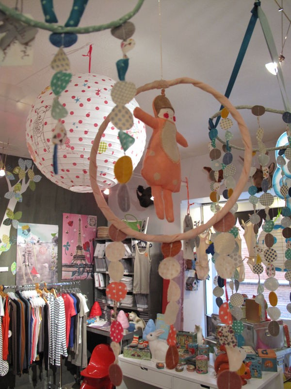 children's shop display via Pouic Land