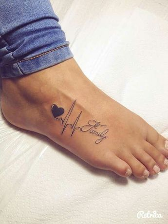 Heartbeat Tattoo Ideas – Tattoo Designs For Women!…