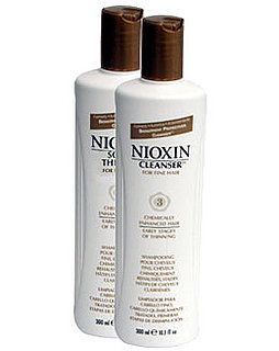 My hairstylist a while back recommended Nioxin shampoo and conditioner to me and I have been dedicated to it ever since.  It strengthens hair and stimulates your scalp to help growth.