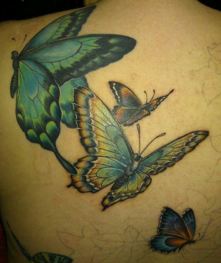 Session 3. Work done at Korpus Tattoo.