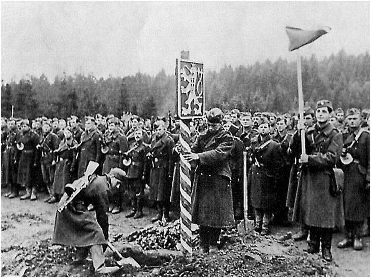 Border crossing in 1944, Vyšný Komárnik