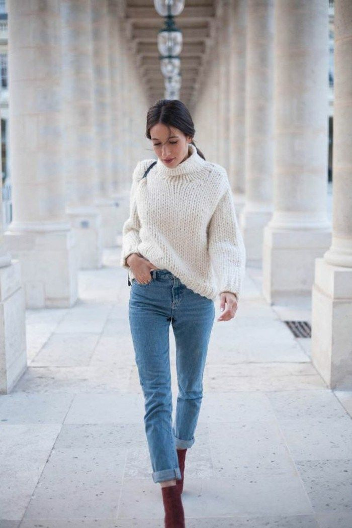50 Pullover Sweaters Outfit Ideas For Women | Fashion