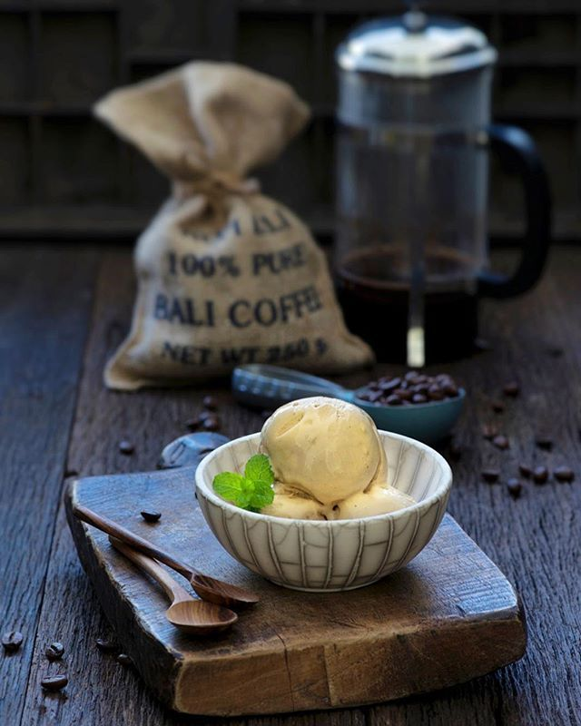 Coffee fanatics, this one's for you: our new Cappuccino Gelato, made with cold brew coffee using locally sourced coffee beans. Get your caffeine fix right now! #gelatosecrets #coffee #gelato #java #bali #kopi #indonesia #brew #dailygrind #coldbrew #coffeeroaster #cafeculture #cafe #morningcoffee #guguide #canggu #thabalibible #balieats #balifoodies #jktfoodies #ubud #seminyak #sanur #inbaliorg