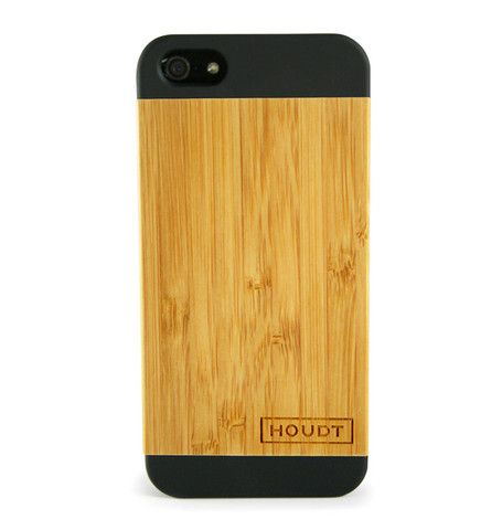 iPhone 5/5S Black Houdt Bamboo Case  #iPhone5s #iPhone5 #iPhoneCovers #iPhoneWoodenCovers
