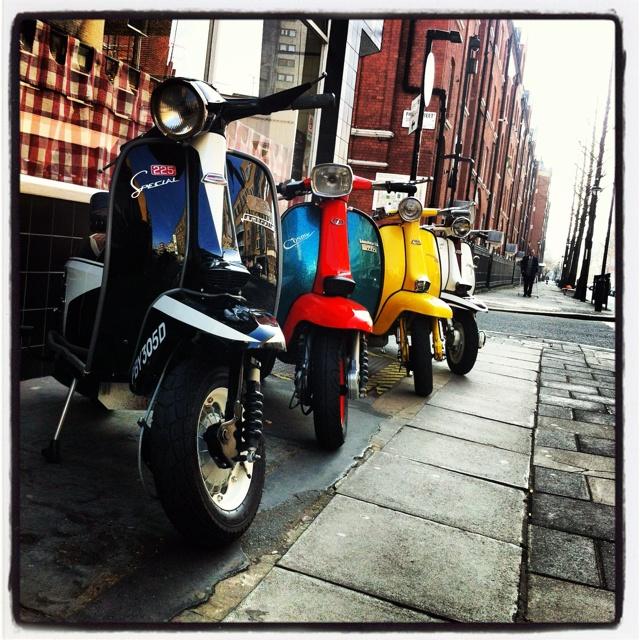 Classic #lambretta #scooters