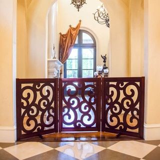 Shop for Primetime Petz Classic Designer Gate. Get free delivery at Overstock.com - Your Online Pet Gates