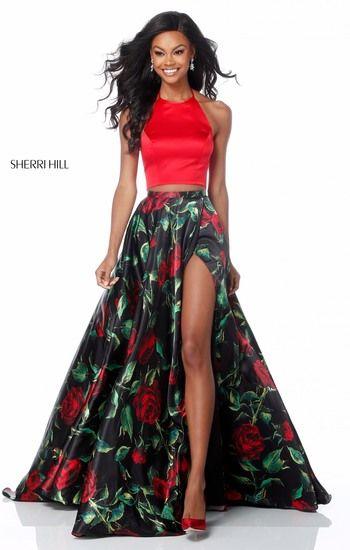 82 best Sherri Hill Prom 2018 images on Pinterest | Abschlussball ...