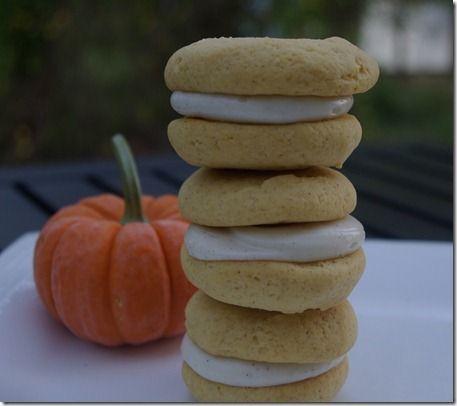 pumpkin spice sugar cookies | sugar | Pinterest