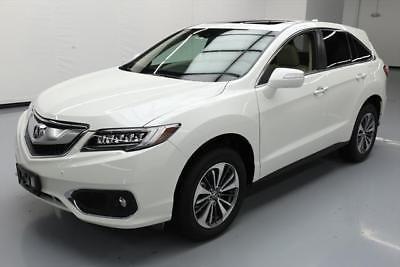 Acura RDX 2017 ACURA RDX ADVANCE AWD SUNROOF NAV REAR CAM 7K MI #033389 Texas Direct Auto