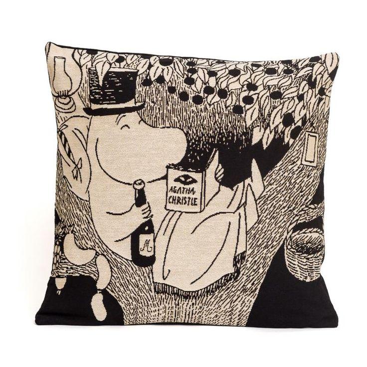 Moominpappa cushion cover by Aurora Decorari - The Official Moomin Shop