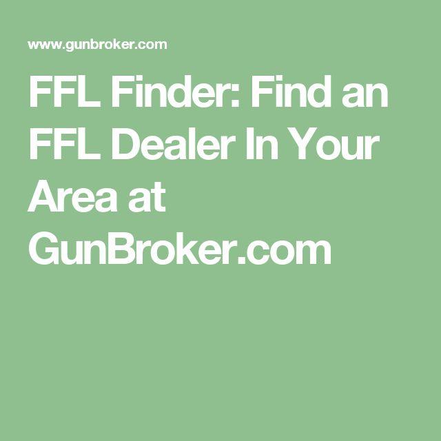FFL Finder: Find an FFL Dealer In Your Area at GunBroker.com