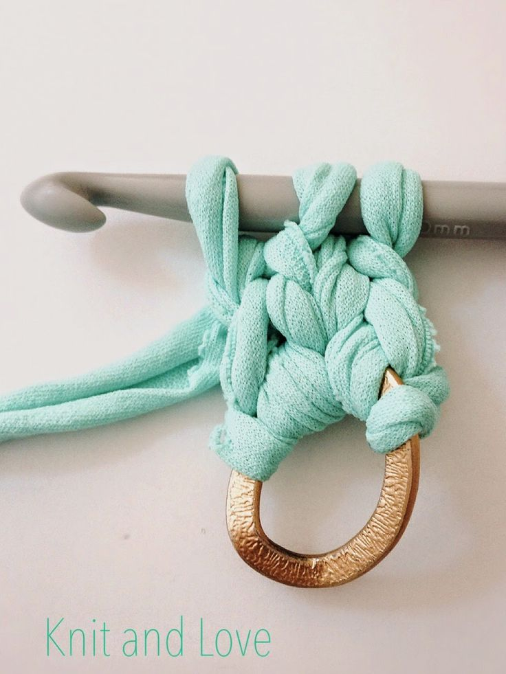 cmo hacer asas trapillo fcil paso a paso diy knit and love