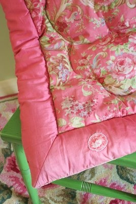 eiderdown - something my grandmother had on every bed.