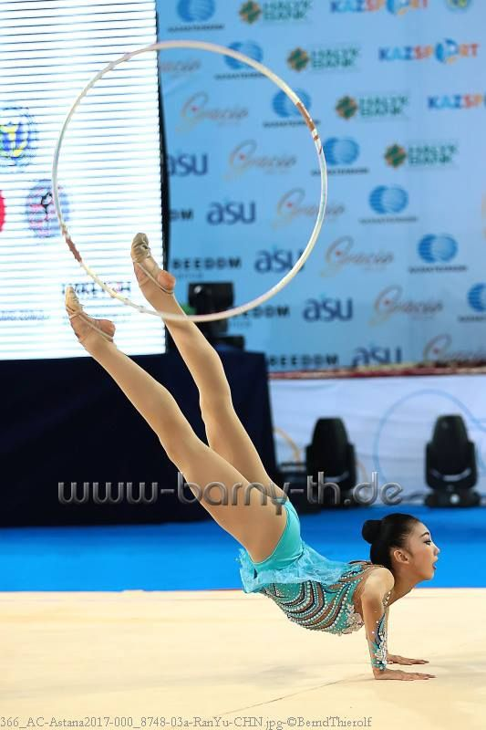 Ran Yu (China), Asian Championships (Astana) 2017