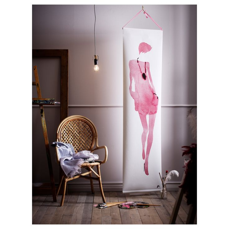SILVAKRA Πόστερ - IKEA.  Για να θυμάσαι κάθε μέρα ότι είσαι γυναίκα!
