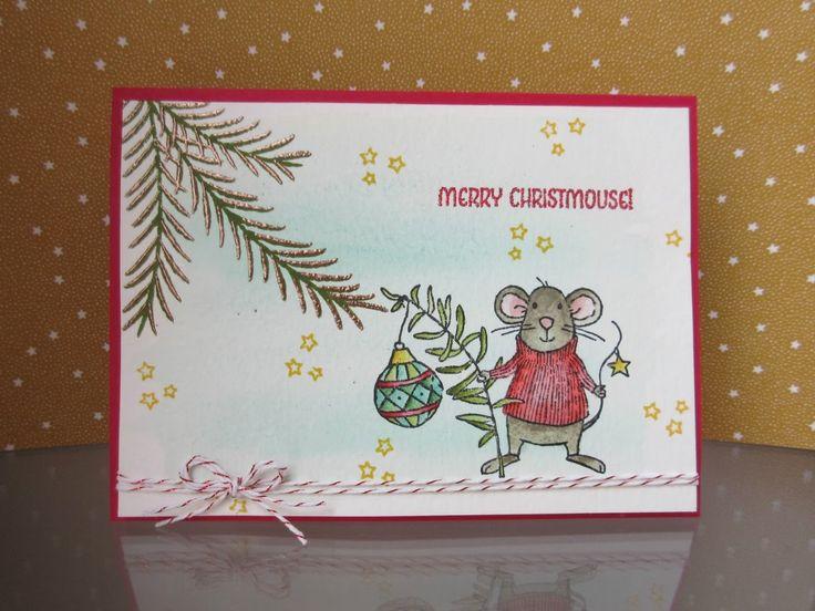 Stampin' Sacha - Stampin' Up! - Autumn-Winter Catalogue 2016 - Merry Mice…